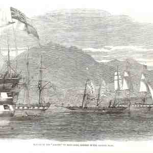 "#651 ""Return of the 'Eaglet' to Hong Kong"", 1857"