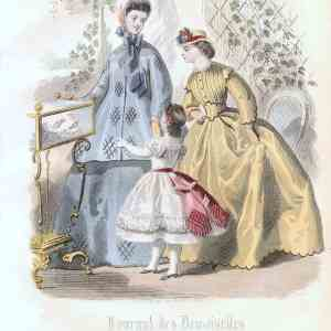 #887 Journel del Demoiselles 1864