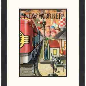 Original New Yorker Cover December 17, 1955