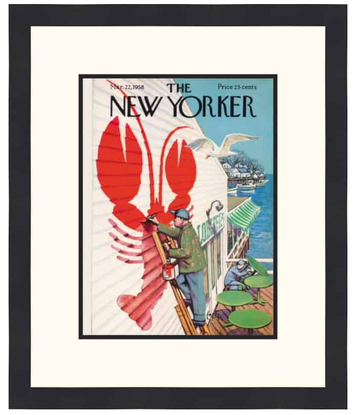 Original New Yorker Cover March 22, 1958