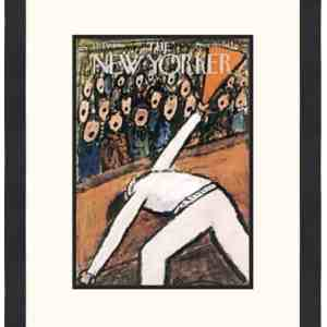 Original New Yorker Cover October 14, 1950