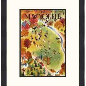 Original New Yorker Cover October 22, 1938