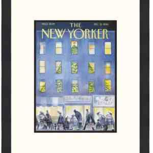 Original New Yorker Cover December 12, 2016