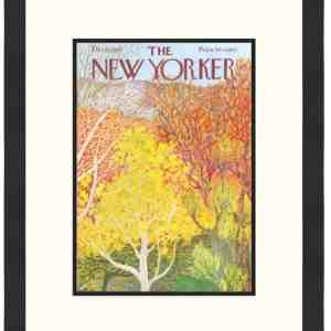 Original New Yorker Cover October 11, 1973