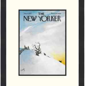 Original New Yorker Cover January 10, 1970
