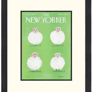 Original New Yorker Cover April 7, 1997