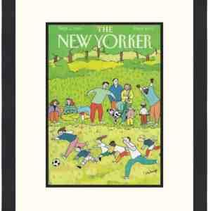 Original New Yorker Cover September 2, 1991
