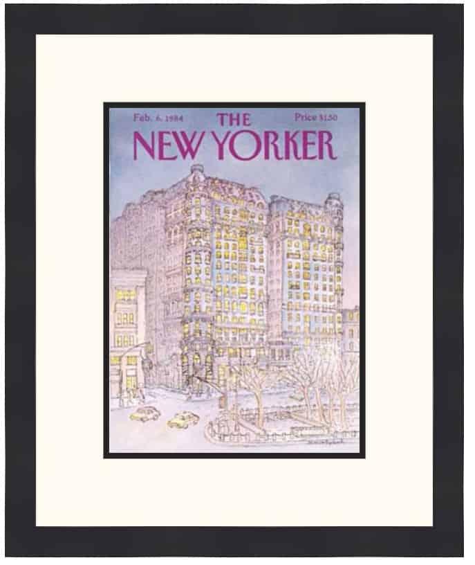 Original New Yorker Cover February 6, 1984