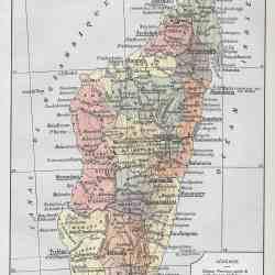 #2944 Madagascar 1922