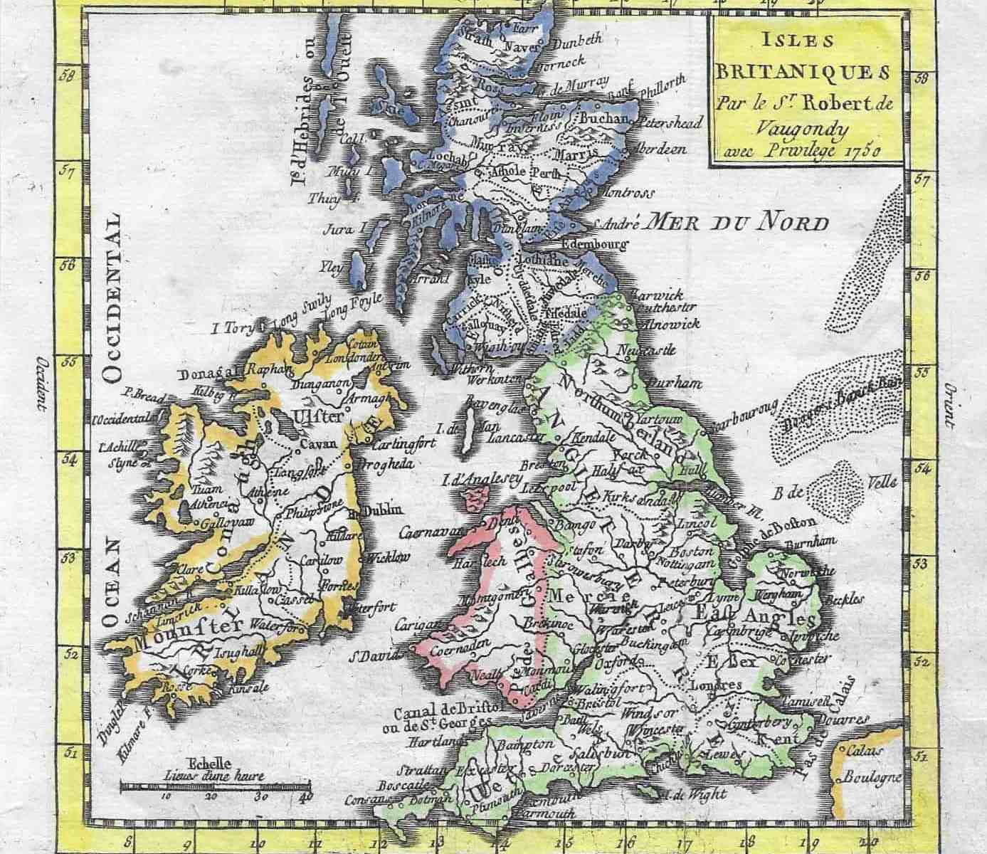 3516 British Isles 1781
