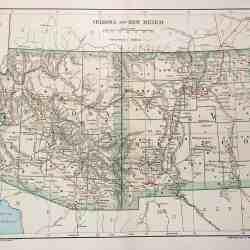 #3271 Arizona & New Mexico 1891