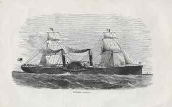 #4240 Steamer Adriatic 1857