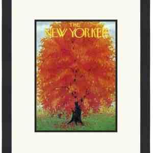 Original New Yorker Cover October 18, 1952