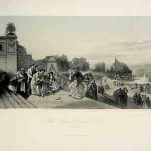#4965 The Terrace, Central Park 1874