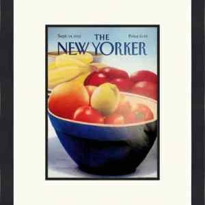 Original New Yorker Cover September 14, 1992