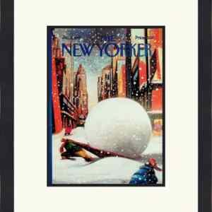 Original New Yorker Cover January 9, 1995