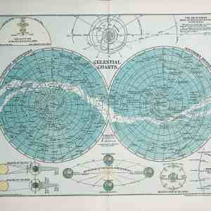 #519 Celestial Charts, 1902