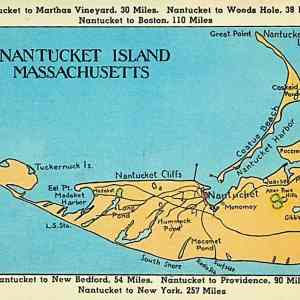 #5361 Nantucket Island, 1940s