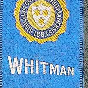 #5367 Whitman College tobacco silk, 1910