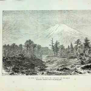 #5375 Mount Fuji, Japan 1882