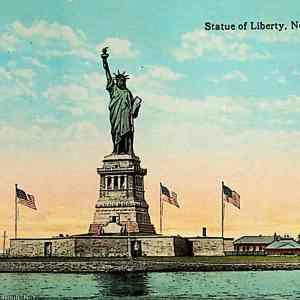#5383 Statue of Liberty, ca1915