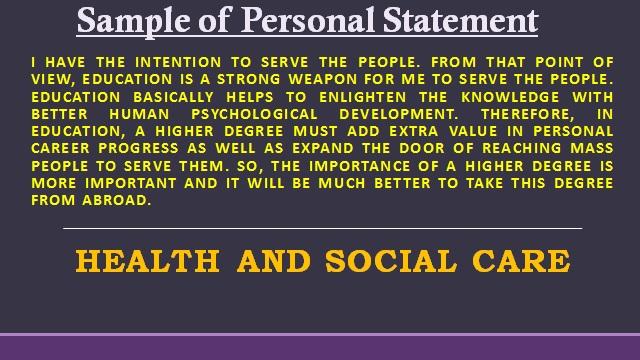 Personal Statement Lancaster University Student