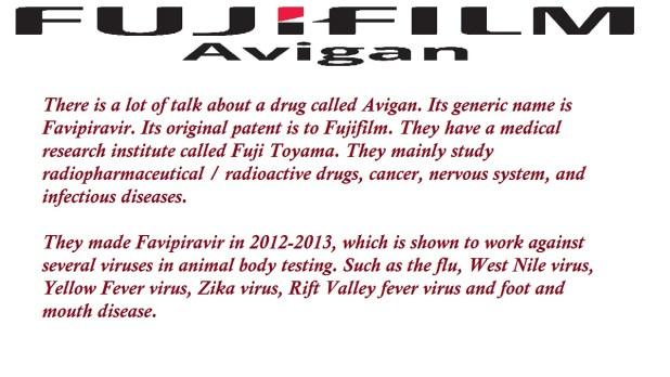 Avigan The Generic Name Of Favipiravir