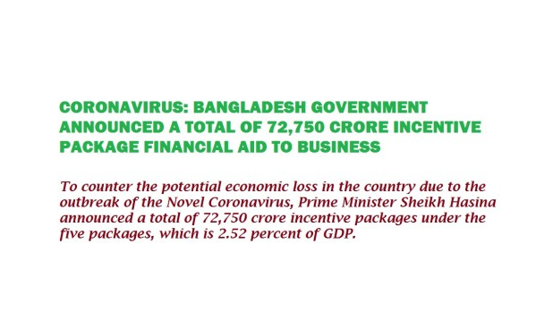 Bangladesh PM Unveils Incentive Package