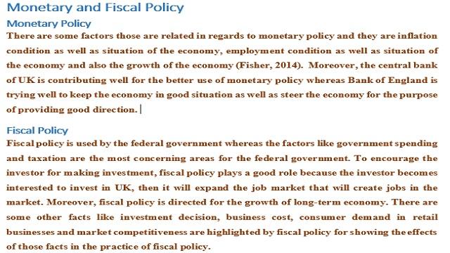 Understanding of UK Economy