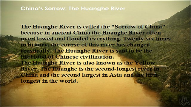 The Huanghe (Yellow) River: History and Development