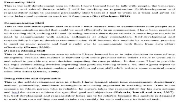 Development of Employability Skill