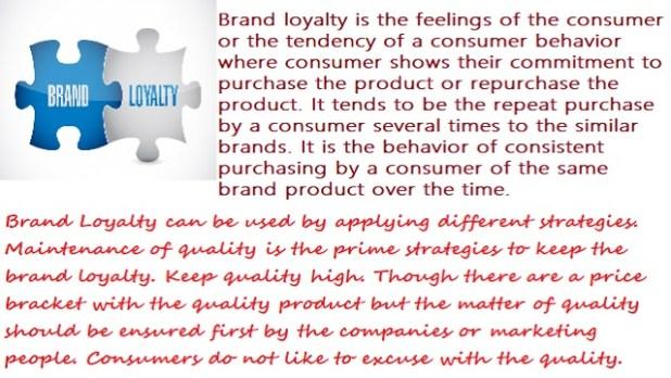 Brand Loyalty Definition