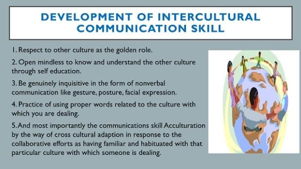 Development of Intercultural Communication Skill