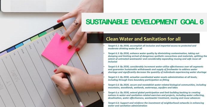 Sustainable Development Goal 6