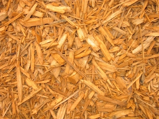residential mulch cedar pine