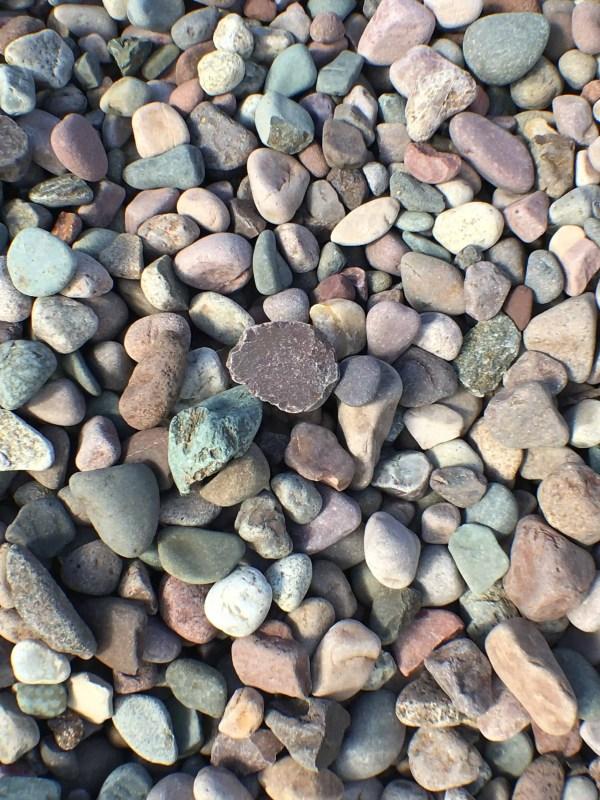 landscape stone granite gravel