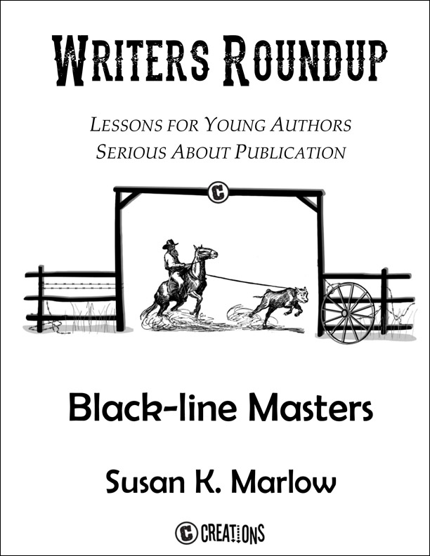 Writers Roundup Black-line Master