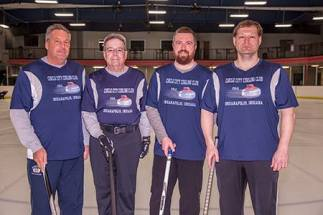 Robert Jennings, Robert Leckron, Matt James and Wes Hoffman