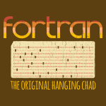 fortran- the original hanging chad