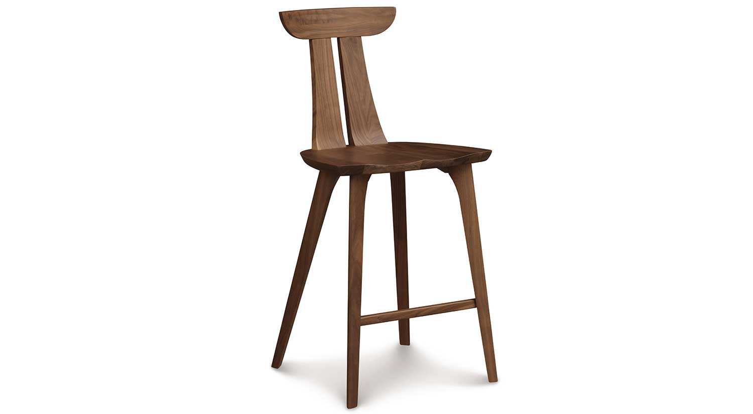 Bar Stools Chairs Circle Furniture Estelle Counter Stool Cherry Counter