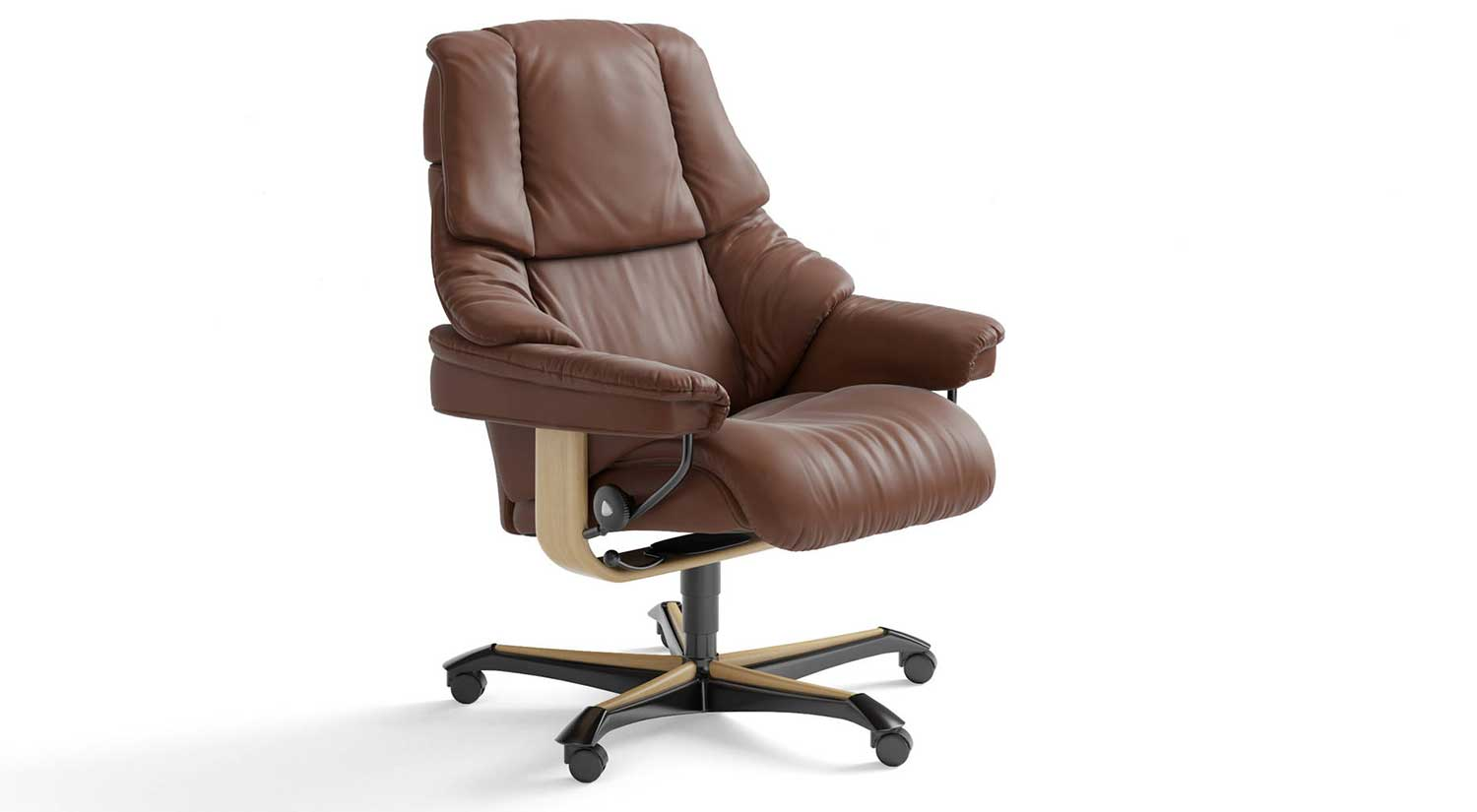 Stressless Office Chair Circle Furniture Stressless Reno Office Chair Office