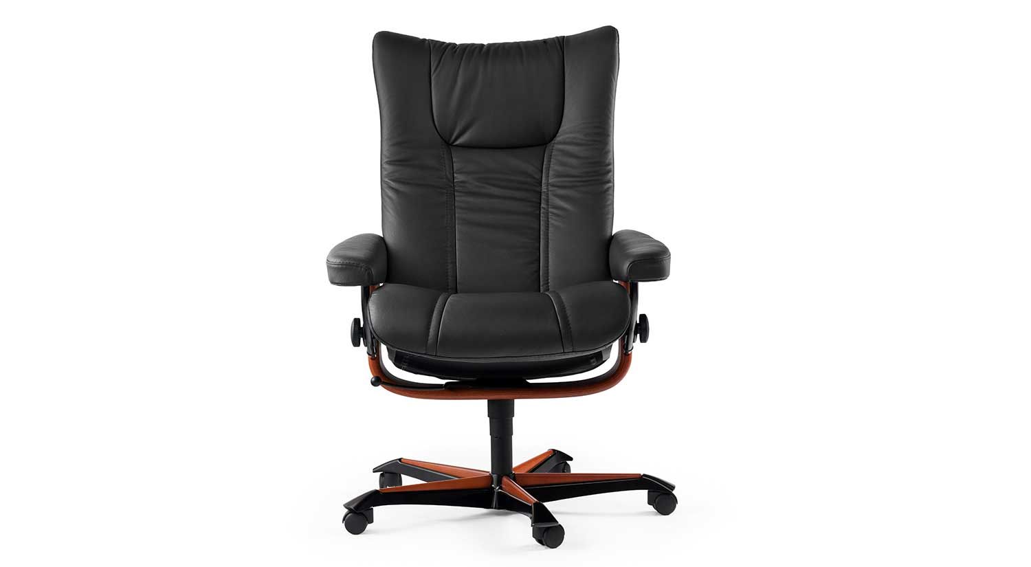 Stressless Office Chair Circle Furniture Stressless Wing Office Chair Home