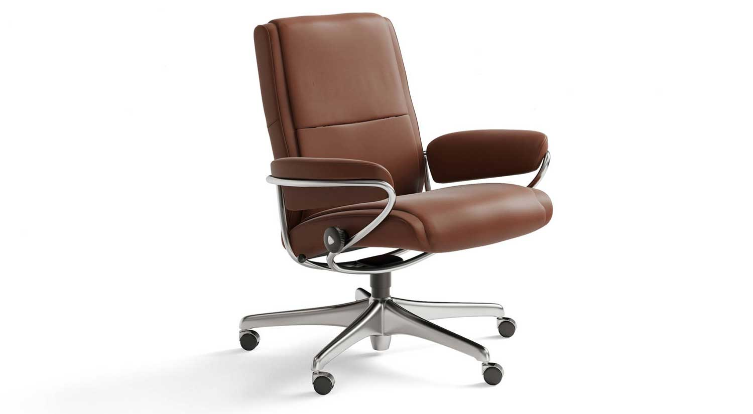 Stressless Office Chair Circle Furniture Paris Lowback Office Chair Paris