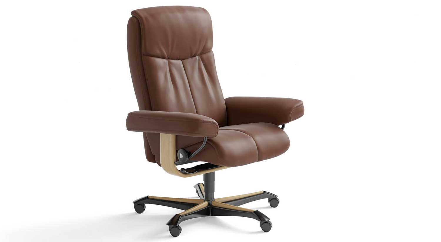 Stressless Office Chair Circle Furniture Peace Stressless Office Chair Desk