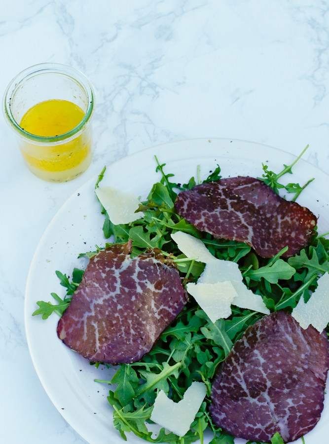 Easy Bresaola and Arugula Salad