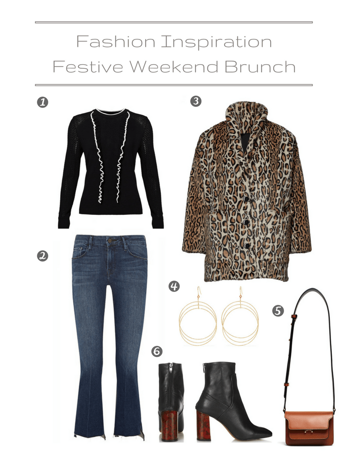 Fashion Inspiration - Festive Weekend BrunchOutfit
