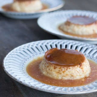 Classic Spanish Flan - Creamy, luscious cream caramel is perfect end to a tapas menu | circleofeaters