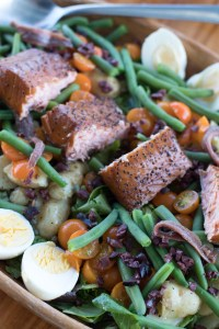 Smoked Salmon Nicoise Salad