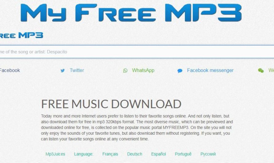 MyfreeMP3 Download MP3 music from these 10 similar sites