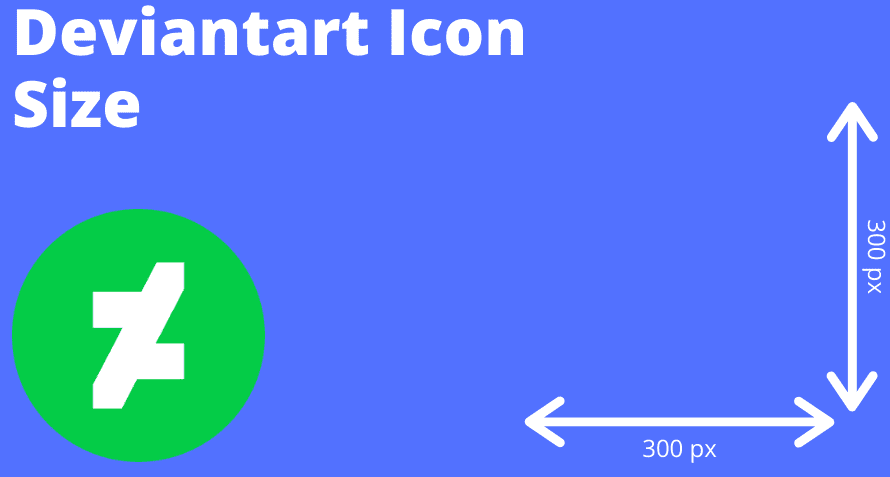 What size is Deviantart icon?